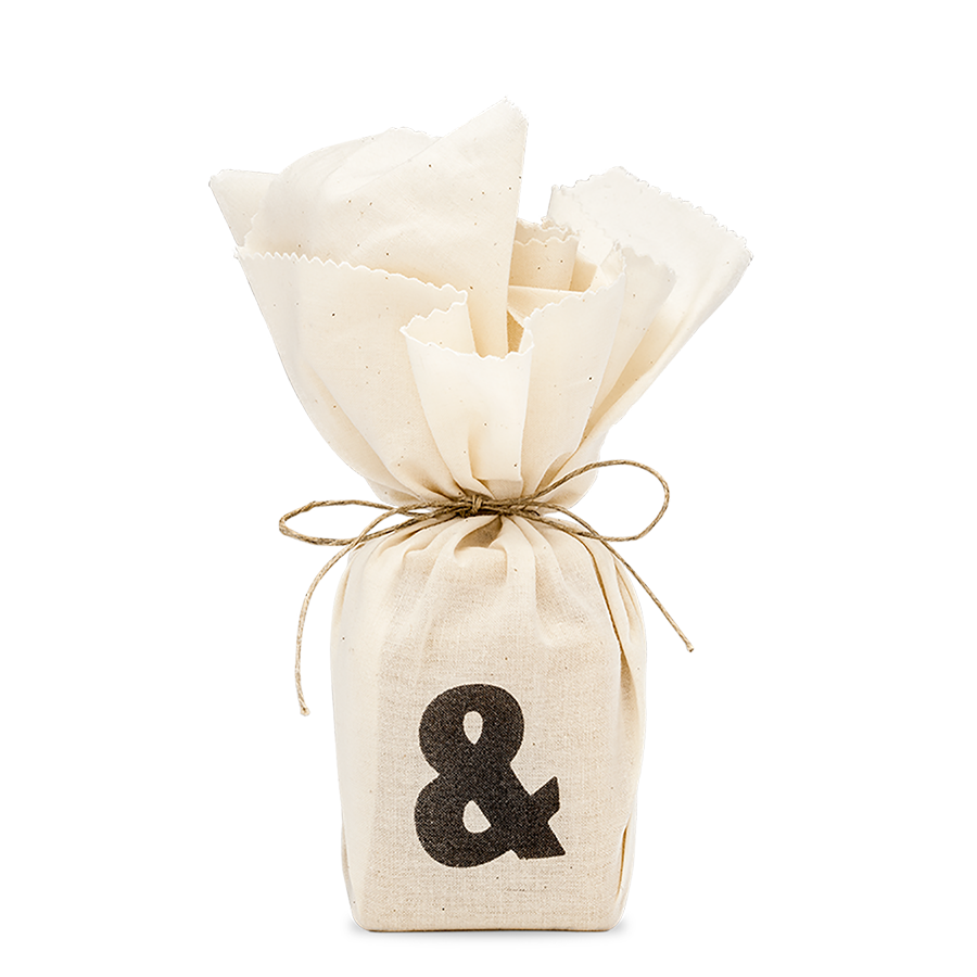 Ampersand Candle Packaging