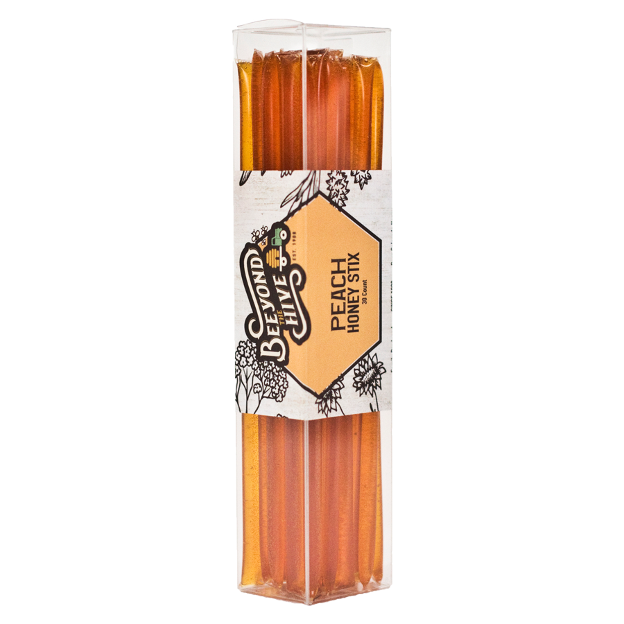 Honey Stix Peach 30 ct